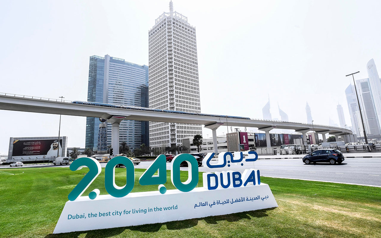 What is the Dubai 2040 master plan