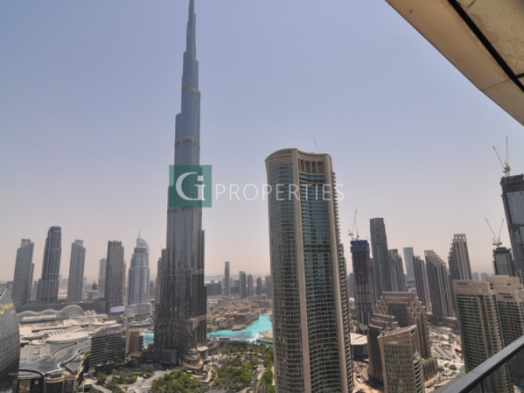 Burj View | High Floor | Vacant | Luxury