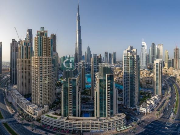 3 Bed | Burj View | High Floor | Luxury |